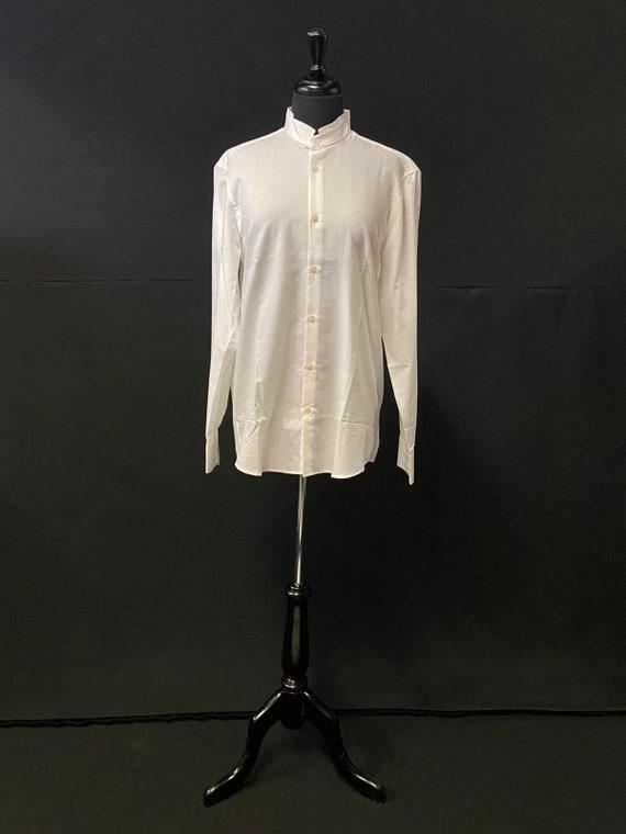 Deadstock 1980's shirt - Nehru Collar