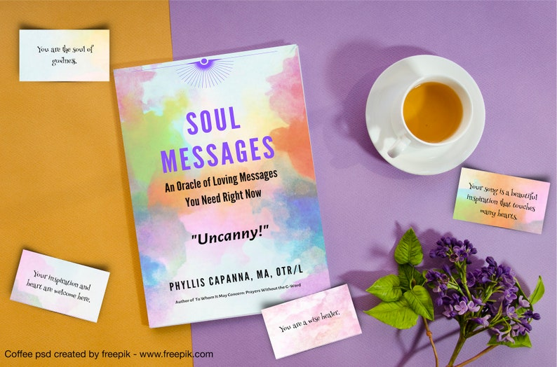 Positive Oracle Card Deck and Ebook Soul Messages Loving image 0