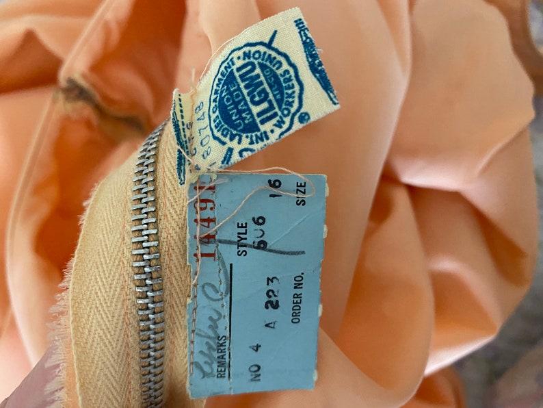 Vintage 1960\u2019s Peach Wiggle Dress