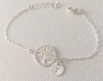 Yoga Jewelry Personalize Tree of Life Bracelet Spiritual Gift