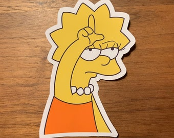 Lisa simpson | Etsy