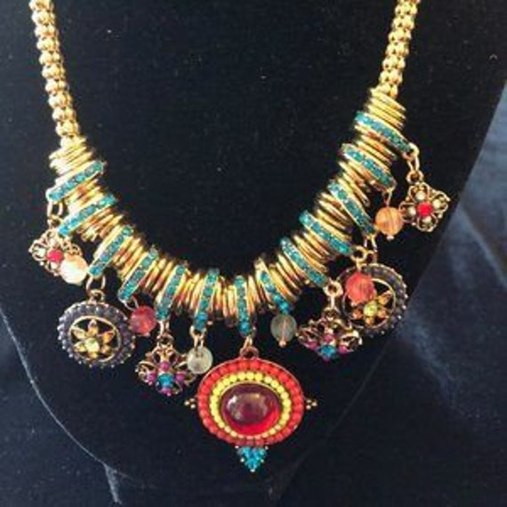 "Betsey Johnson ""folklore"" necklace"