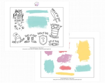 Printable Bible Stickers