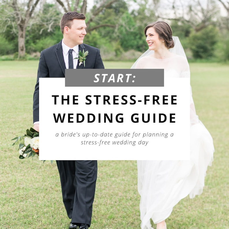 The Stress-Free Wedding Guide image 0