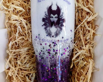Maleficent Cup Etsy