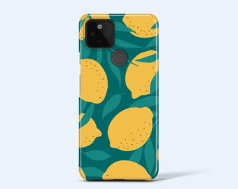 LEMONS Pixel Case   Pixel 4A Case, Pixel 4 Case, Pixel 4 xl Case, Pixel 3a Case, Pixel 3axl Case, More Models Available, Fruit