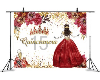 Quinceanera Backdrop Etsy