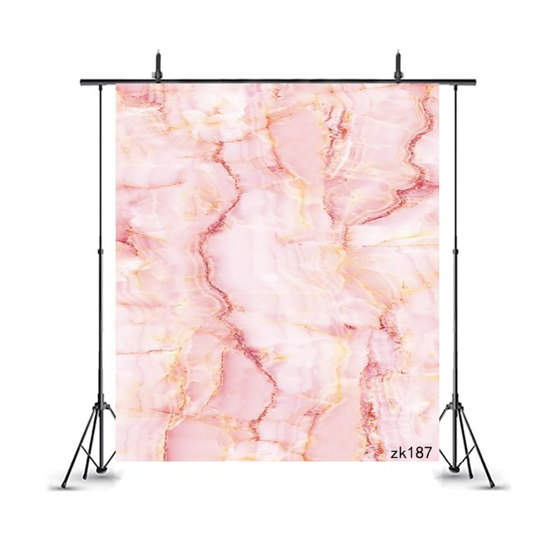 Natural Pink Marble Background,Pink Quartz Stone Photography Backdrop