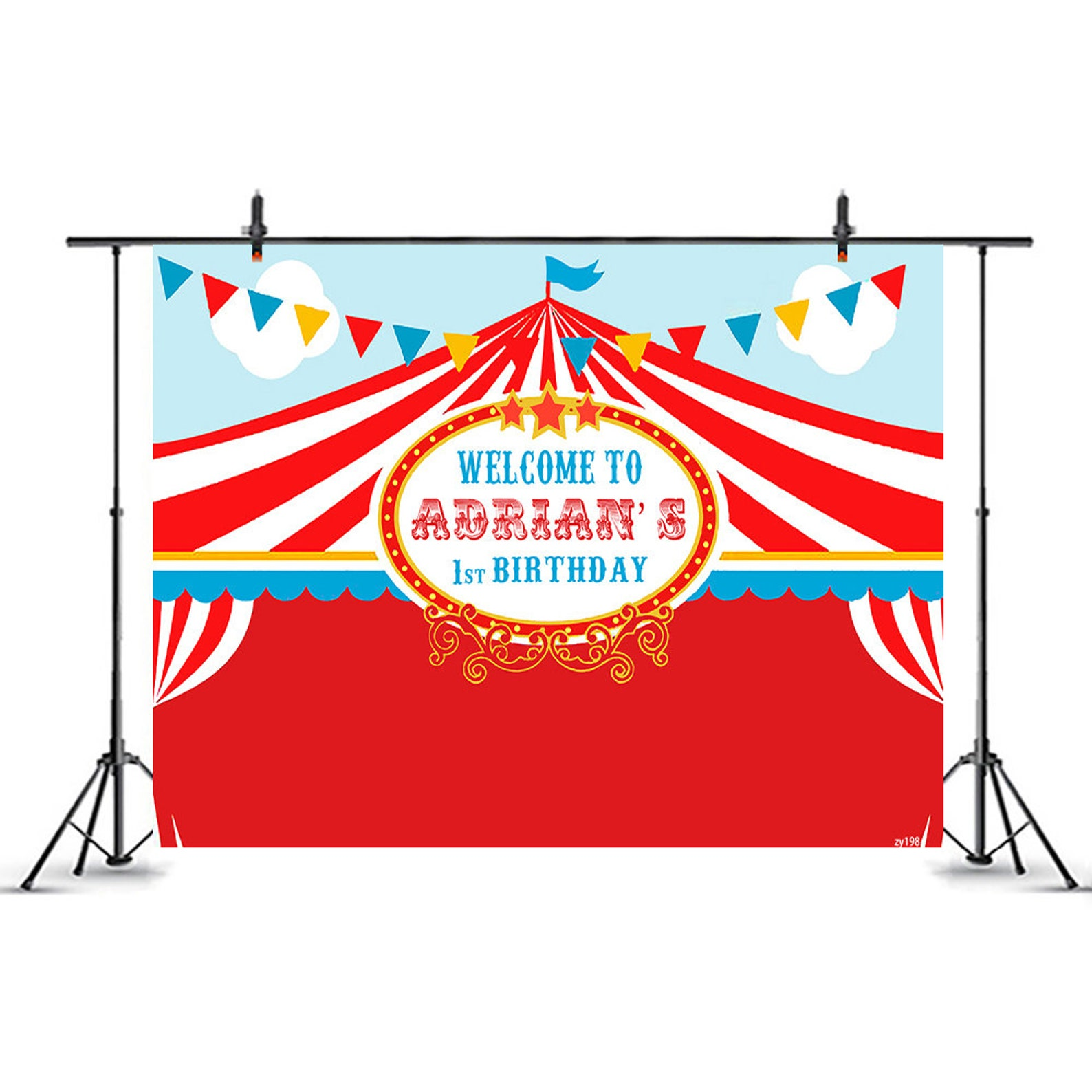 Circus Party Backdrops Page Two