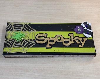 10pcs paillettes Citrouille Halloween Craft Embellissement Scrapbooking Cardmaking