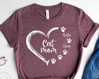 Graphic T-Shirt Kawaii Cat Pill Bottle Cat Lover Gift Mental Health Shirt Anti Depressive Cat T-Shirt Fur Mama Shirt