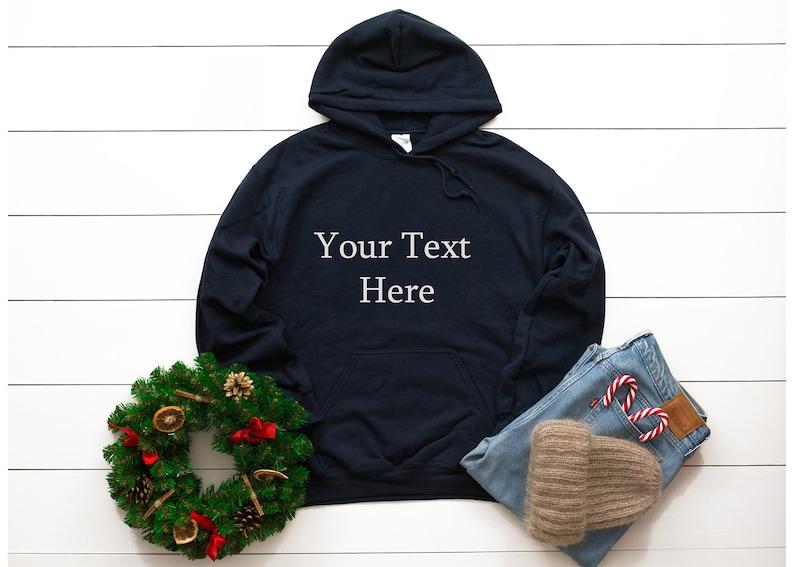 Design Your Own Men Women Custom Hoodie Add Your Text Unisex Hoodie,Pullover Sweatshirt,Personalized Hoodie Front and Back,Custom Hoodie