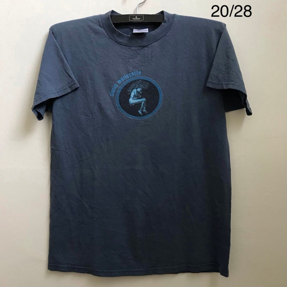 Vintage 90's Alanis Morissette T-Shirt Pop Rock Gr