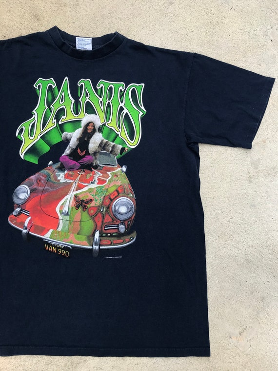 Vintage 90s Janis Joplin Psychedelic Hippie T-Shir