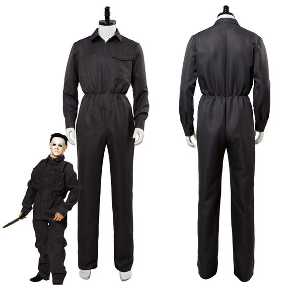 Movie Halloween Michael Myers Cosplay Costume Adul