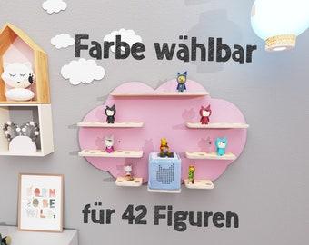 Motiv: Wolke Ablage f/ür Toniebox Aufbewahrung Regal f/ür Tonie Figuren Kinderregal Halterung f/ür Musikbox und magnetische Spielfiguren