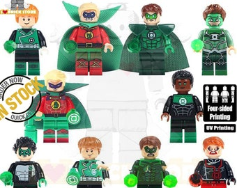 *NEW* LEGO Custom UV Printed 70/'s Painter Minifigure LIMITED TO 40 FIGURES