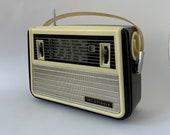Retro radio VEF-Spīdola, Soviet portable radio, Radio transistor, Vintage, Old radio, Collectible radio, Stylish design, Retro decor, Rarity