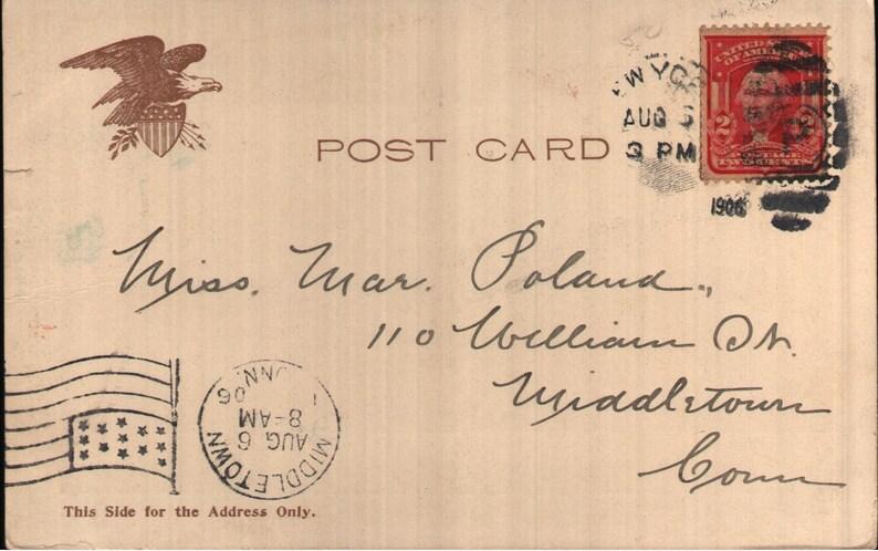 War and Navy Department Washington DC 1906 Undivided Back Vintage Pre-Linen Postcard State