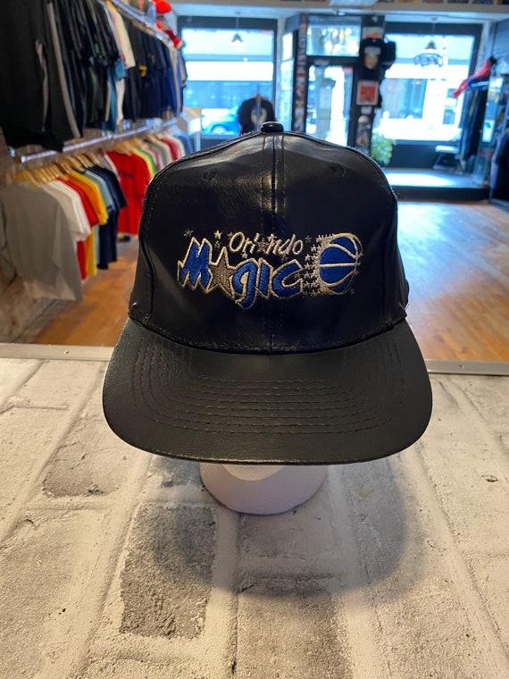 90's Orlando Magic Leather NBA vintage SnapBack ha