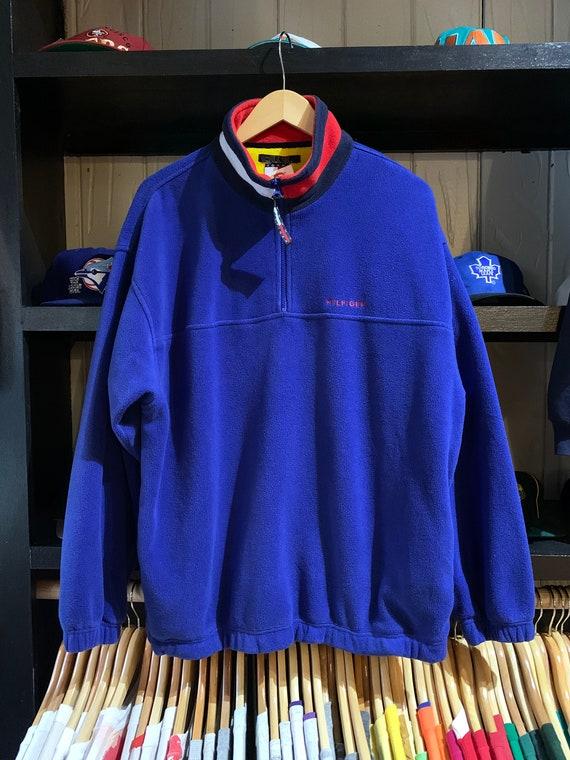 Size XL 1990's Vintage Tommy Hilfiger Fleece Sweat