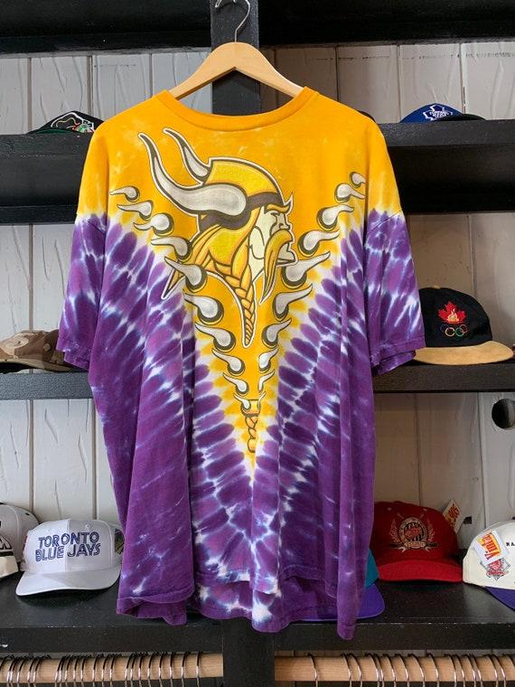 Minnesota Vikings Tie-Dye by Liquid Blue T-Shirt