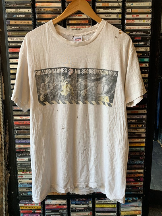 1999 Rolling Stones distressed No security Vintage