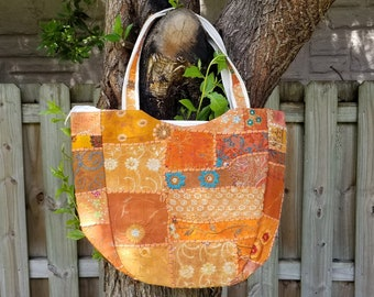Fair Trade Purse 5 Colors Available Indian Vintage Purse Fabric Bag Boho Tote Bag Patchwork Purse Boho Vintage Purse Fair Trade Tote Bag