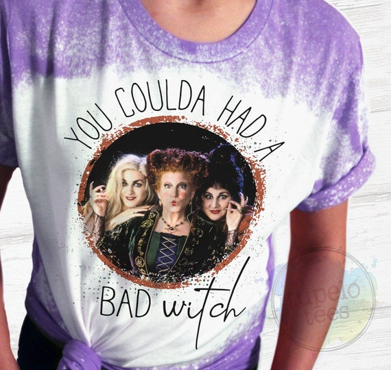 Halloween Shirt, You Could of Had A Bad Witch, Sanderson Sisters Halloween Shirts, DNA Test, Fall Shirts for Women, Hocus Pocus Halloween