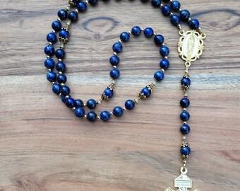 Lapis Lazuli FSSP Seminary Rosary