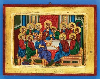 Imported Greek Icon - Last Supper