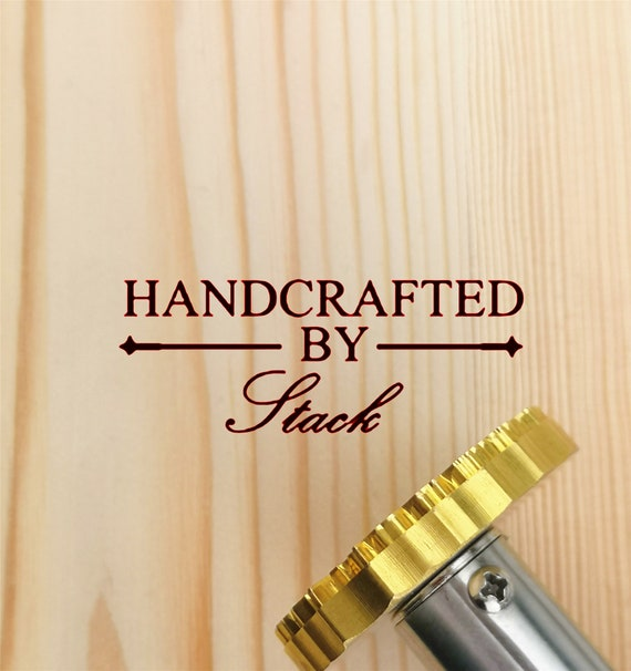 Custom wood branding iron Wooden Handle Branding Iron with custom wood stamp Custom Leather Stamp