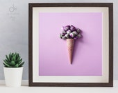 "Ice cream ""Brussel Sprout"" poster 