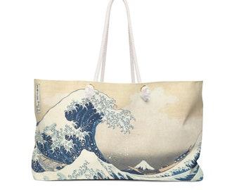 The Great Wave Off Kanagawa Weekender//Overnighter Bag