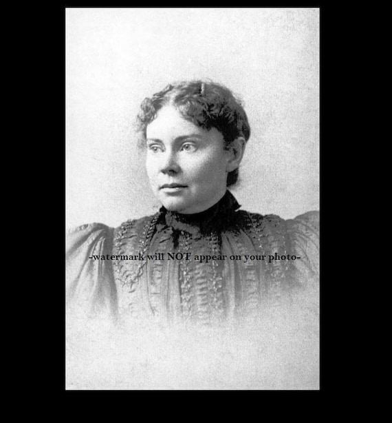 Lizzie Borden PHOTO Suspect Pic Famous Murder Trial Fall River Mass