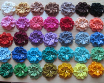applique and creativity rings 50 crochet lace elements for scrapbooking flowers leafs and doilies decoration