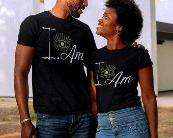 I Am Shirt - I Am Affirmation Shirt - The Great I AM - Higher Self Shirt - I AM powerful - Inner Self
