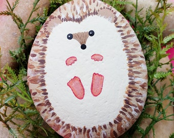 Baby Brother painted rock gift