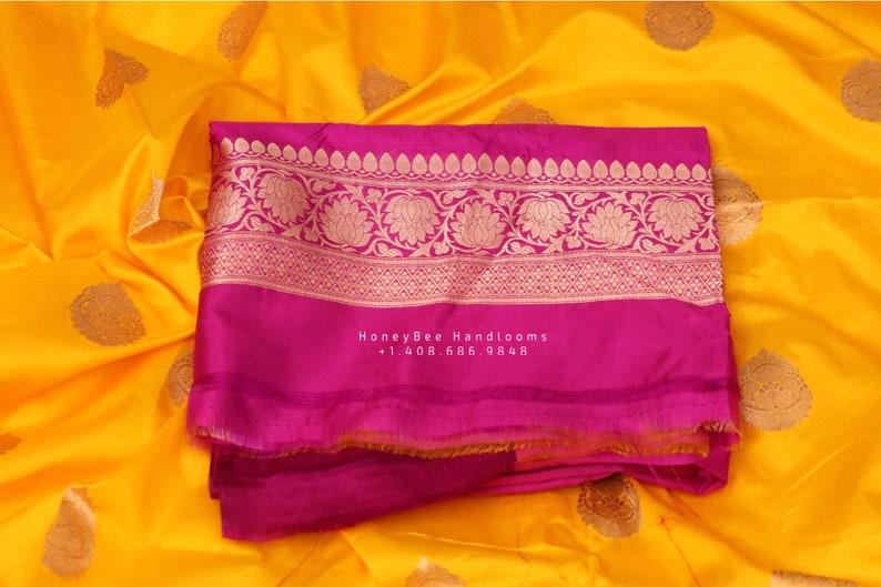 Raw mango saree inspired,Lyte weight Sarees online,South Indian Sarees,Pure Banaras Sarees,Saree Blouse handloom saree,yellow saree NIHIRA