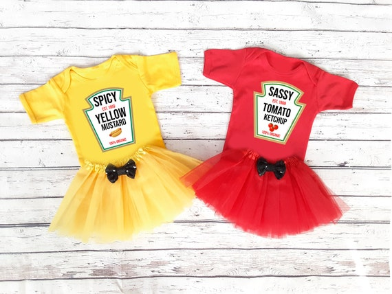 Ketchup Mustard Relish Halloween Costumes for Sisters Brothers
