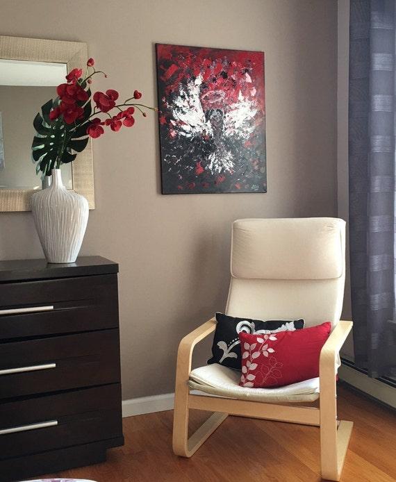 Angel Original Art Wall decor 20/% Abstract Angel Acrylic Home Decor Wall Decor Housewarming Gift 14 by 9 Inches by Julia Bond
