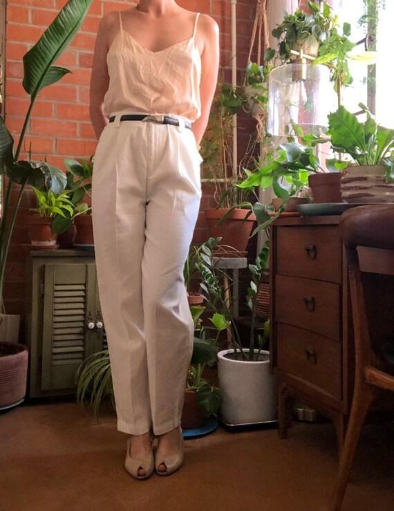 Liz Claiborne Linen Trousers