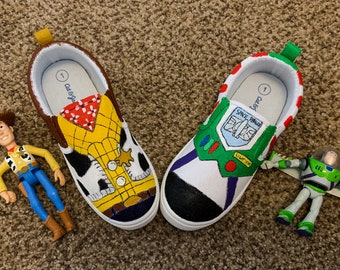6dd4fec3f65e4 Painted kids shoes | Etsy