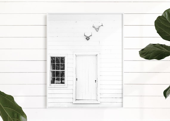 White Barn Art, Fixer Upper Decor, Farmhouse Decor, Country Decor, Farm Art, Barn Art, Farmhouse Art