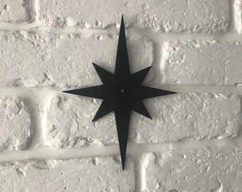 Atomic Starburst for outdoor house numbers