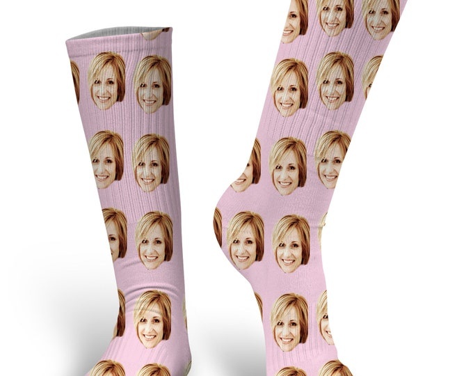 Custom Face Socks- Photo Socks- Put your Face on socks, Cat Socks, Custom Dog Socks,  Personalized Face Socks, PupSocks