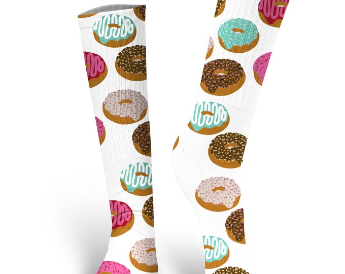 Donut Socks, Custom Donut Socks