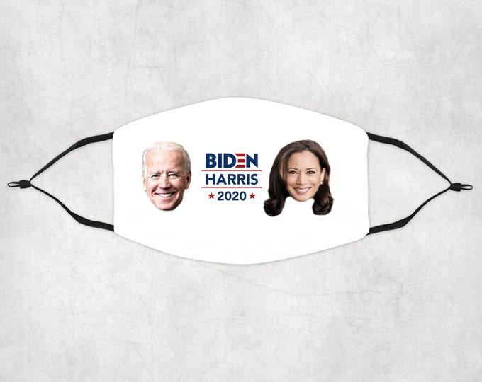 Joe Biden Face Mask, Biden Harris Face Mask, Biden 2020 Face Mask, Face Mask with Filters, Face Mask, Biden Harris 2020 mask