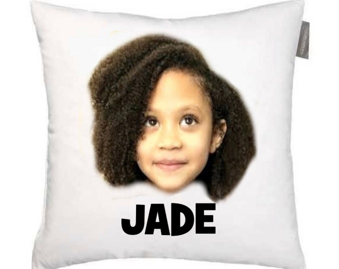 Custom Face Pillow, Face pillow, dog face pillow, put your face on a pillow, put your dog on a pillow, decorative pillow, custom pillow