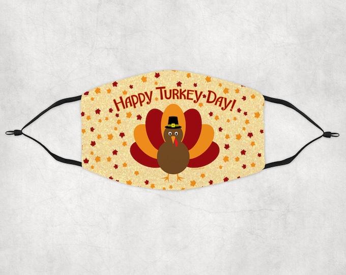 Thanksgiving Mask, Custom Face Mask, Thanksgiving face mask, Thanksgiving